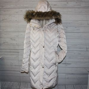 Kenneth Cole Quilted Down Puffer Jacket size XL